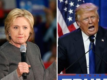 Bà Hillary và ông Trump sắp có 3 cuộc tranh luận trực tiếp.