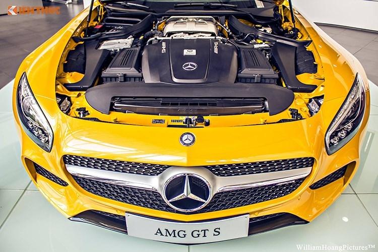 """""""Soi"""" Mercedes-Benz AMG-GT S gia 9,1 ty tai Sai Gon-Hinh-16"""