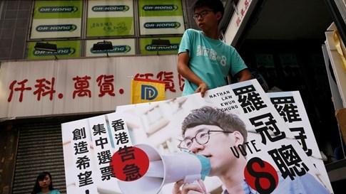 Thủ lĩnh sinh viên đắc cử nghị viên Hồng Kông - ảnh 1