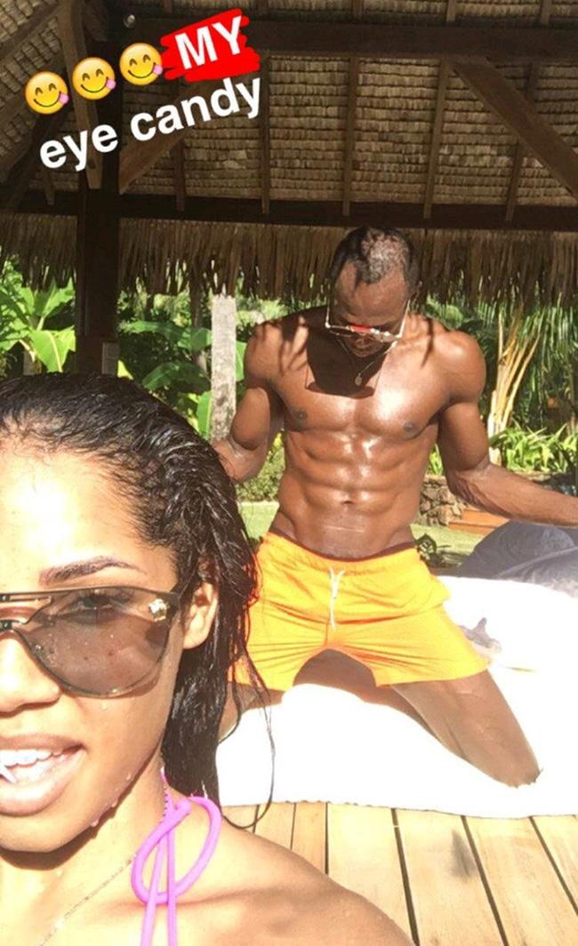 Usain Bolt khoe ảnh nóng của bạn gái sau scandal ăn nằm với cô sinh viên Brazil - Ảnh 2.