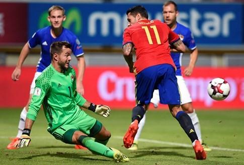 Vòng loại World Cup 2018: Tây Ban Nha dội mưa bàn thắng vào lưới Liechtenstein - ảnh 3