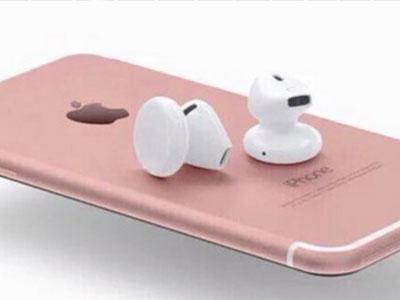 Apple ra dòng tai nghe không dây AirPods cao cấp cùng iPhone 7
