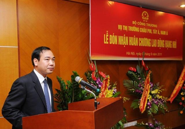 Tân Vụ trưởng Vụ Tổ chức cán bộ của Bộ Công Thương- một vị trí được cho là rất quan trọng của Bộ này.