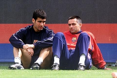 Mourinho vs Guardiola Da co mot thoi nhu the! hinh anh goc