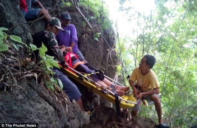 Thái Lan: Trốn kẻ cưỡng hiếp, nữ du khách người Mỹ rơi xuống vực núi sâu 45m - Ảnh 3.