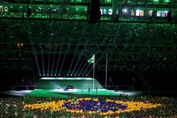 Anh an tuong cua doan TTVN tai khai mac Paralympic Rio 2016