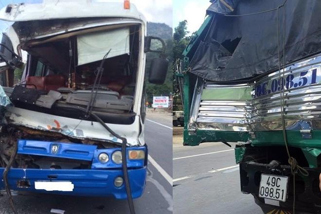 Clip: Tài xế dũng cảm cứu xe khách mất phanh khi đổ đèo Bảo Lộc - Ảnh 3.