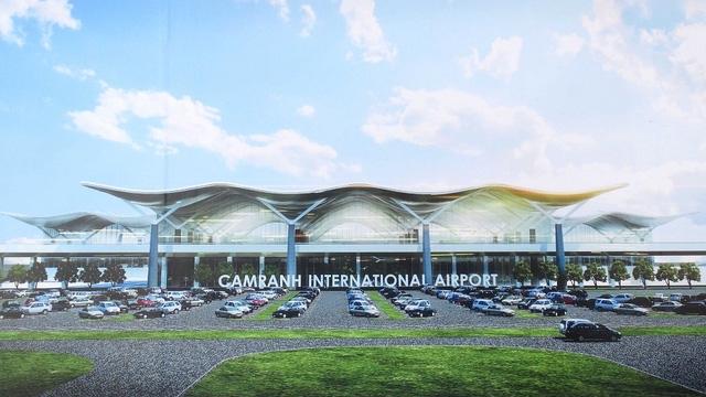 Nhà ga quốc tế tại Cảng hàng không quốc tế Cam Ranh đạt công suất 8 triệu lượt khách vào năm 2030
