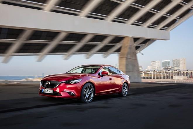 Những công nghệ nổi bật trên Mazda 6 đời 2017