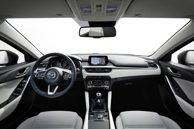 Những công nghệ nổi bật trên Mazda 6 đời 2017 - 2