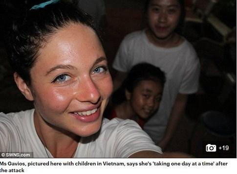 Cô gái Mỹ trốn kẻ cưỡng hiếp bị rơi xuống vực mong trở lại Việt Nam  - ảnh 2