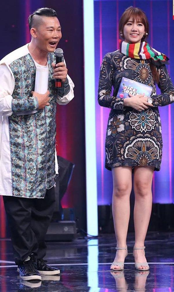 Hari Won mượn váy của mẹ Trấn Thành để mặc? - Ảnh 3.