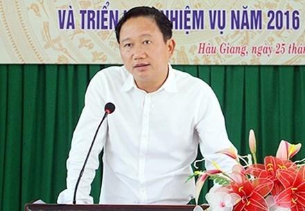 Ban Bí thư chính thức khai trừ ông Trịnh Xuân Thanh ra khỏi Đảng