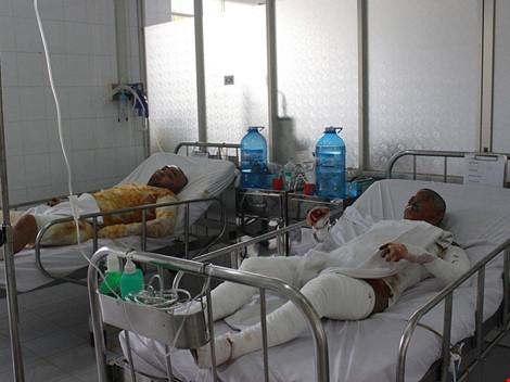 Chị Huệ đang được cấp cứu tại Bệnh viện trong tình trạng nguy kịch.