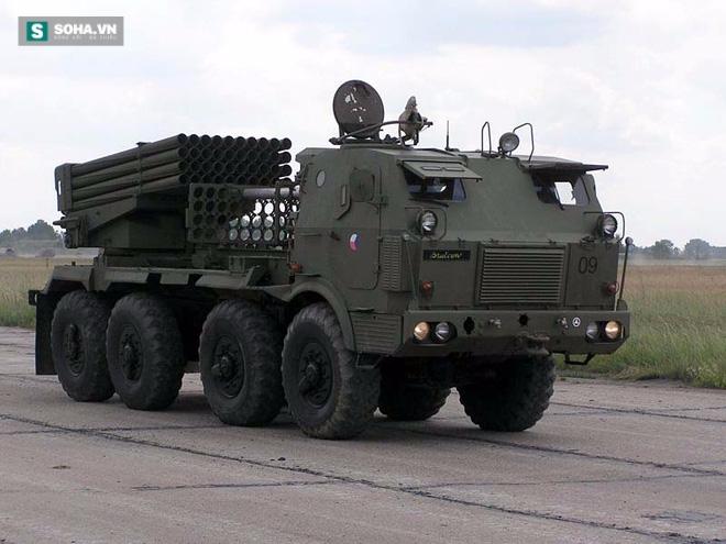Sức mạnh pháo phản lực phóng loạt cực kỳ lợi hại của Campuchia - Ảnh 1.