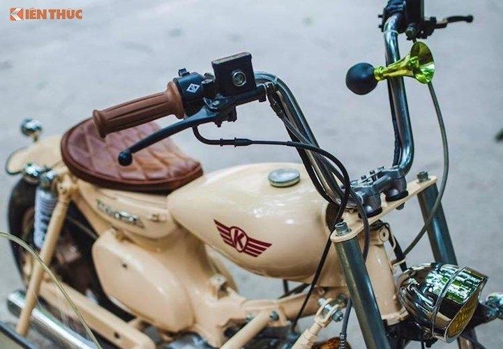 Honda Super Cub, Honda Super Cub độ xít đờ ca, độ xe, xe sidecar 3 bánh