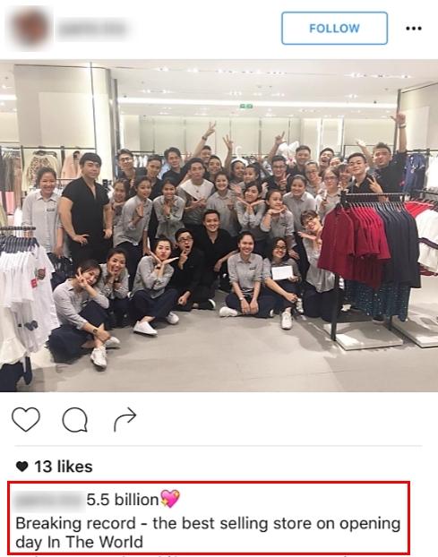 Zara Việt Nam bán được 5.5 tỷ đồng, phá đảo kỷ lục doanh thu trong ngày khai trương? - Ảnh 2.