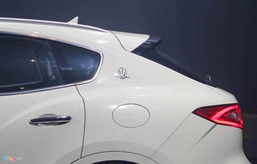 Chi tiet Maserati Levante dau tien tai Viet Nam hinh anh 6
