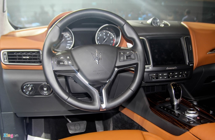 Chi tiet Maserati Levante dau tien tai Viet Nam hinh anh 13