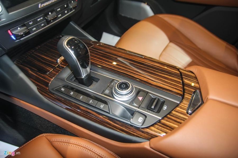 Chi tiet Maserati Levante dau tien tai Viet Nam hinh anh 15