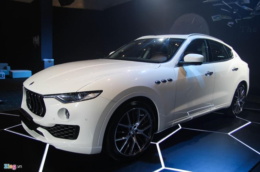 Chi tiet Maserati Levante dau tien tai Viet Nam hinh anh 17