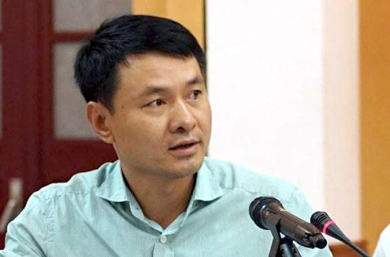 Ông Trần Anh Tú - cán bộ có phát ngôn thô lỗ với báo chí (Ảnh: Hà Nội mới)