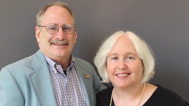 Ông Vaughn Allex và vợ (Ảnh: StoryCorps)