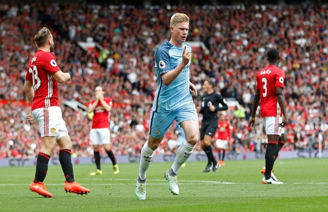 MU vs Man City (0-1, H1): De Bruyne mo ty so hinh anh 2