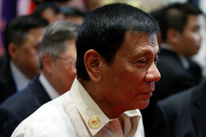Tổng thống Philippines Rodrigo Duterte nhận được tin dữ con gái sẩy thai khi đang ở Lào dự hội nghị thượng đỉnh ASEAN /// Reuters
