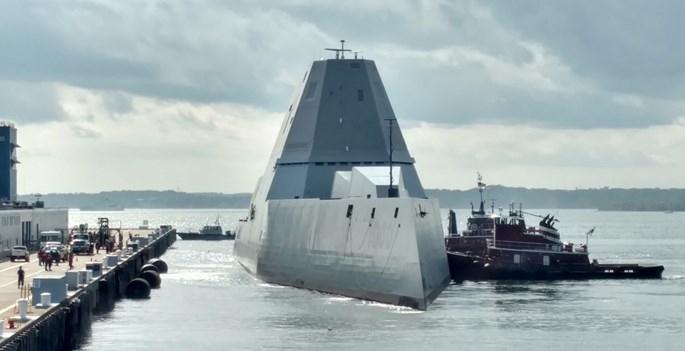 Khu trục hạm tàng hình Mỹ vượt biển 3 tháng đến nhà mới - ảnh 3