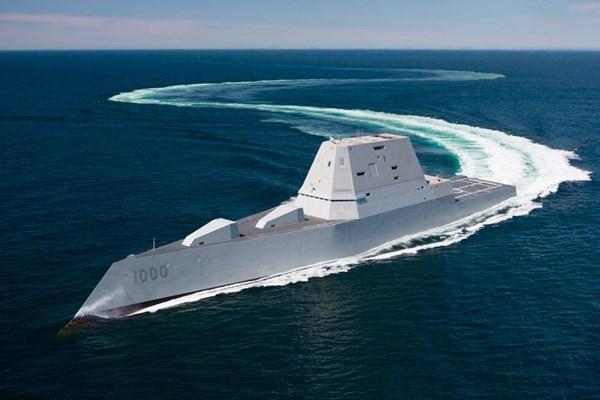 Khu trục hạm tàng hình Mỹ vượt biển 3 tháng đến nhà mới - ảnh 6