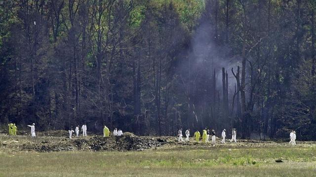 Nếu không đâm xuống một cánh đồng ở Pennsylvania, chiếc máy bay có thể đã lao vào tòa nhà quốc hội Mỹ. Ảnh: Reuters
