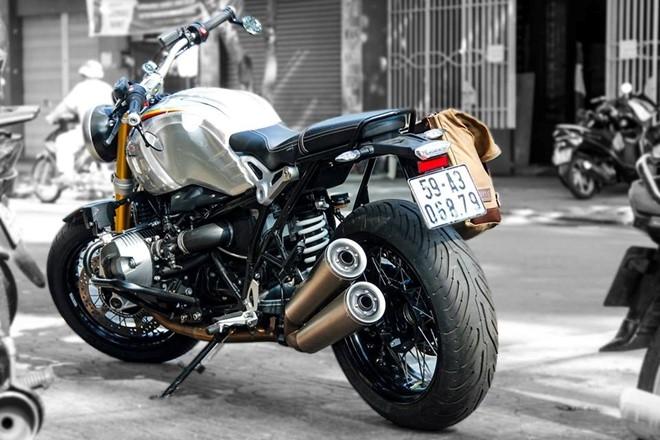 BMW R nineT son tem co Duc cua biker Sai Gon hinh anh 5