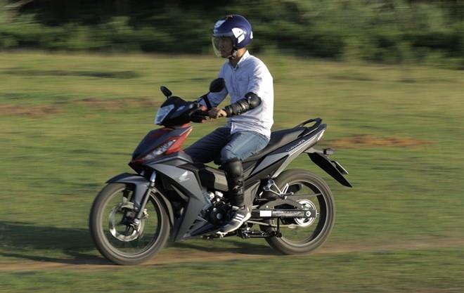 Danh gia Honda Winner 150: Manh o kha nang van hanh hinh anh 1