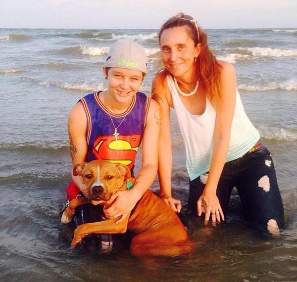 Patricia và con gái Misty đã quyết định làm đám cưới với nhau hồi tháng 3 vừa qua trước khi bị phát hiện và bắt giữ