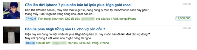 Rao ban iPhone 6S tang vot truoc ngay iPhone 7 ve nuoc hinh anh 1