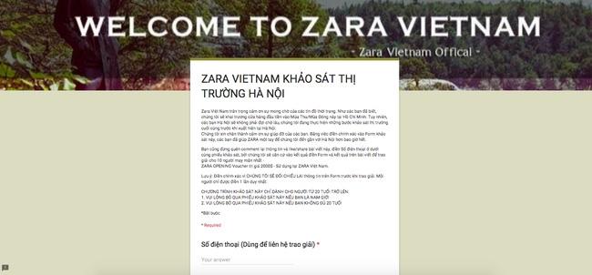 Rộ tin đồn Zara Việt Nam sắp mở cửa hàng ở Hà Nội trong thời gian tới - Ảnh 1.