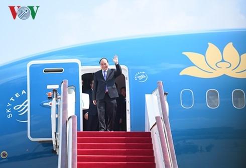 Thu tuong Nguyen Xuan Phuc tham chinh thuc Trung Quoc hinh anh 1