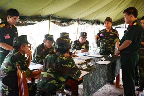 Binh chủng Tăng - Thiết giáp tổ chức diễn tập khu vực phía Nam - Ảnh 1.