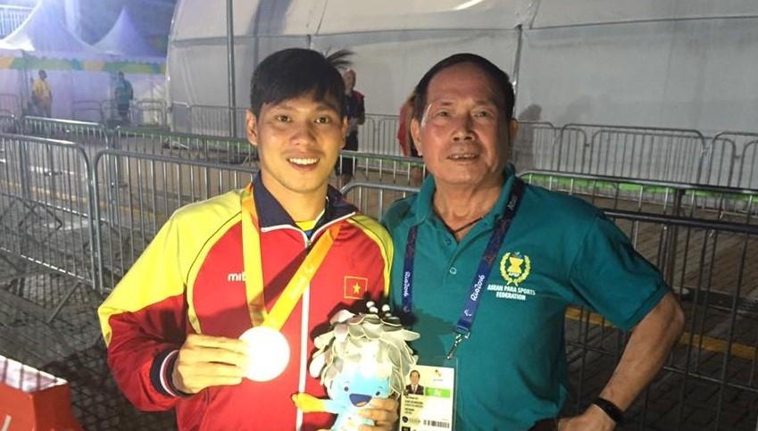 Võ Thanh Tùng đoạt HCB cự ly 50m tự do, hạng thương tật S5.