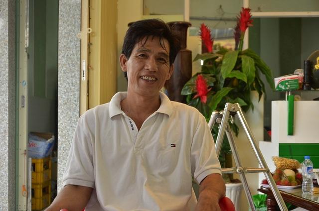 Vì đau chân nên ông Phong ủy quyền cho vợ lên làm việc với Công an huyện Đạ Huoai để làm rõ nguyên nhân tai nạn và nguồn gốc chiếc xe