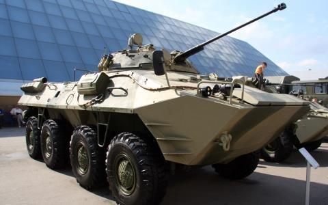 Mau xe boc thep tuong lai co lam NATO ngao ngan?