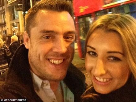 Cặp vợ chồng Simon và Leandra.