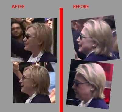 Rộ tin bà Hillary Clinton có 'người đóng thế' - ảnh 1