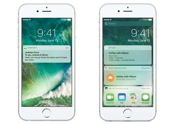 10 thay doi lon nhat tren iOS 10 hinh anh 1