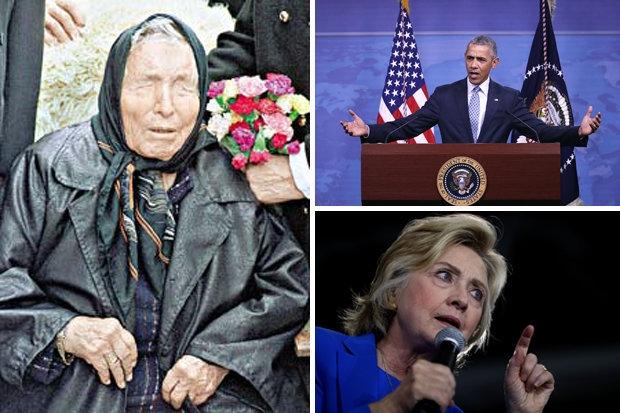 Bà Clinton đổ bệnh, lời tiên tri của Vanga ứng nghiệm? - 1