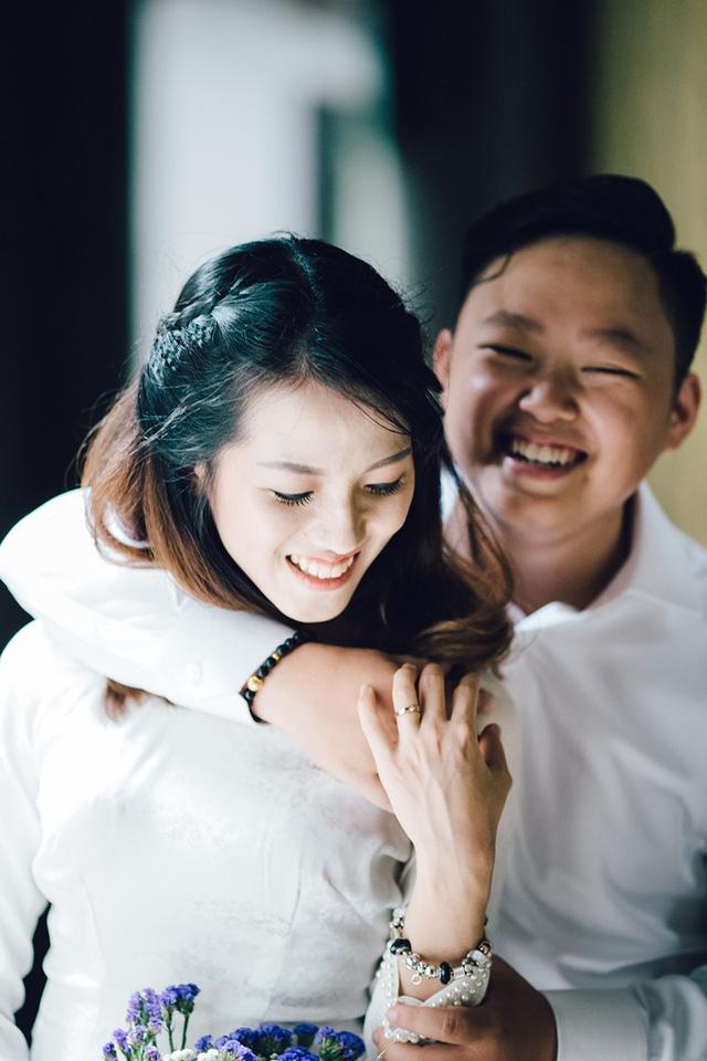 Bộ ảnh cưới của Trung – Giang được thực hiện tại Hà Nội