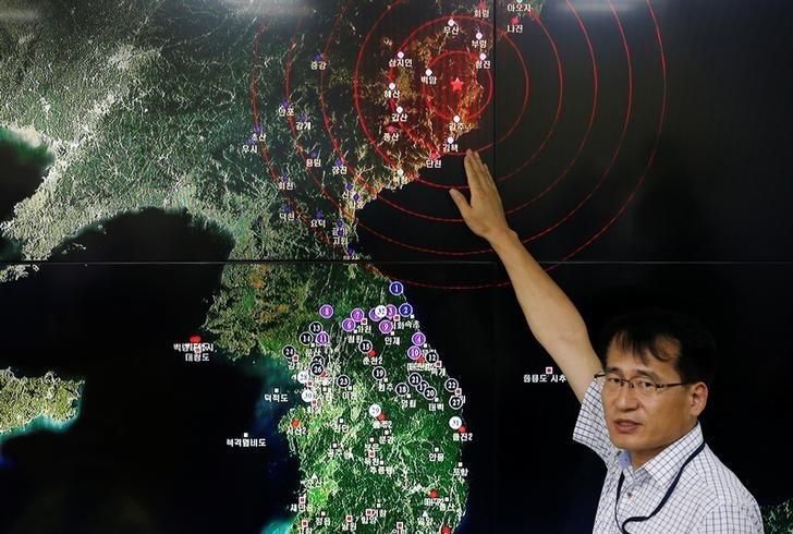 Hàn Quốc động đất do Triều Tiên thử hạt nhân? - ảnh 1