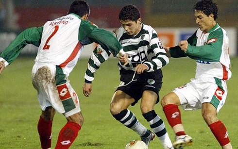 real - sporting lisbon: ronaldo tai ngo doi bong cu hinh 0