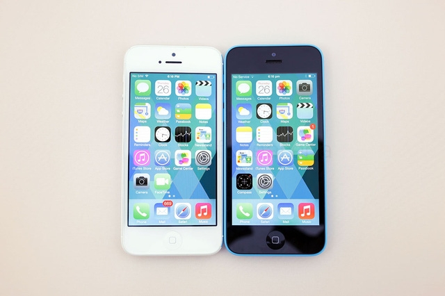 iPhone 5 và iPhone 5c có cấu hình tương tự nhau